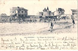 LE CROISIC La Plage De Port Lin éd Thuret  TTB Précurseur Timbré - Le Croisic