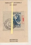 STRASBOURG   CONSEIL DE L'EUROPE  1/9/1949  CACHET TEMPORAIRE - Philatélie & Monnaies