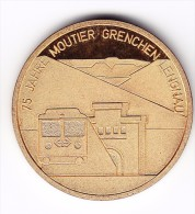 75 Jahre Moutier Grenchen Lengnau Medal - Switzerland