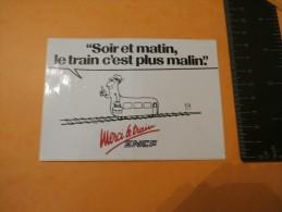 AUTOCOLLANT SNCF - Autocollants