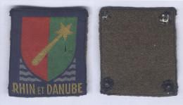 Insigne De Bras De La 1ère Armée Rhin Et Danube - Ecussons Tissu