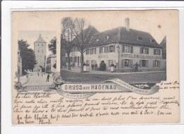HAGEUNEAU : Gruss Aus Hagenau - Tres Bon Etat - Haguenau