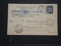 NEW SOUTH WALES - Entier Postal ( Illustré Au Dos) De Sydney Pour La France En 1898 - A Voir - Lot P14252 - Cartas
