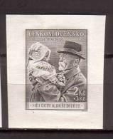Tschechoslowakei / CSSR , 1938 , Mi.Nr. 391 * Gefalzt Blockmarke - Ungebraucht