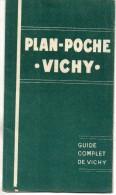 Plan De Poche. Vichy. 1925 - Europe