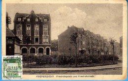 Duisburg Friemersheim - S/w Friedrichsplatz Friedrichstraße - Duisburg