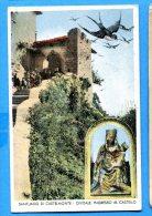 F466, Santuario Di Castelmonte, Cividale, Circulée 1947 Timbre Décollé - Italy