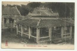 COCHINCHINE HATIEN PAGODA INDOCINA FRANCESE 1912 N.V.F.P. - Vietnam