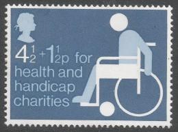 Great Britain. 1975 Health And Handicap Funds. 4½p + 1½p MH. SG 970 - 1952-.... (Elizabeth II)
