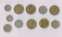 25 Bani 1952,1966,50 Lei 1991...   X 11  !!!!ensemble De Pièces De Monnaie-set Of Coins - Roumanie