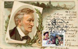2661 San Marino ,  Maximum,  Richard Wagner ,   Music Composer  Card Vintage ! - Muziek