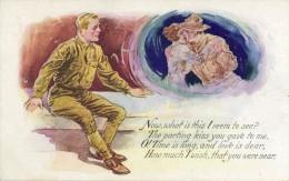 US ARMY ARMEE AMERICAINE  SURREALISME - Guerra 1914-18