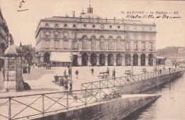 Cp , 64 , BAYONNE , Le Théâtre - Bayonne