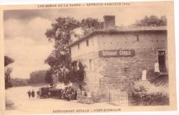 Reyrieux Parcieux Restaurant Gérald Port Bernalin Les Bords De La Saone - France