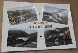 Hermeton S/Meuse (Hastière): Bonjour De // Groetjes Uit // Grüsse Aus (2600) - Hastière