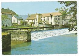 CPSM ESSOYES, LE BARRAGE SUR L'OURCE, AUBE 10 - Essoyes