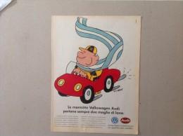 ADVERTISING PUBBLICITA´ LE MARMITTE VOLKSWAGEN AUDI  -- 1989 -  OTTIMO - Werbung