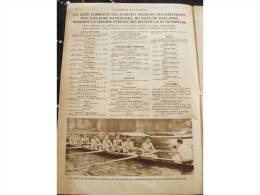 1928 JEUX OLYMPIQUE LISTE COMPLETE DES SPORTIFS FRANCAIS - COUPE DAVIS - NICOLAS FRANTZ TOUR DE FRANCE - Unclassified