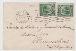 Cu039 / Bartolome Maso 1913 Nach Argentinien - Kuba