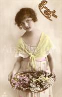 CPA / Postcard / New Year Card / Carte De Nouvel An / Bonne Année / Girl / Fille / RPH No 5731-1 / 1920 - Nouvel An