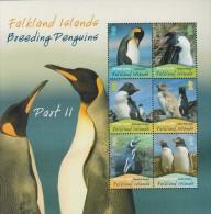Antarctic.Falklands Islands.2010.Sheet.6v.Penquins.MNH.22193 - Stamps