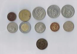 Mexico 2 Centavos 1939,1906, 1959, 1977... X 11  !!!!ensemble De Pièces De Monnaie-set Of Coins - Mexique