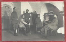 Belgique - ANTWERPEN - ANVERS - Carte Photo - Foto - Soldats Allemands - Feldpost - Fortifikation - Piano - Violon - Antwerpen