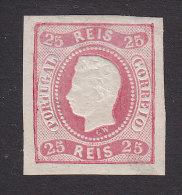 Portugal, Scott #28, Mint Hinged, King Luiz, Issued 1867 - Neufs