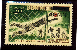 Bénin 2008  ( Foot  25F/20F ) Superbe - Luxe **   RARE - Benin – Dahomey (1960-...)