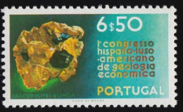 PORTUGAL - Scott #1109 The 1st Portuguese-Spanish-American Congress For Economic Geology / Mint NH Stamp - Unused Stamps