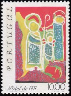PORTUGAL - Scott #1358 Christmas '77, Holy Family / Mint NH Stamp - Unused Stamps