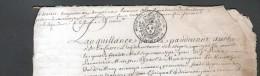 1716, GENERALITE DE PARIS , 2 FEUILLES, 3 SCANS - Cachets Généralité