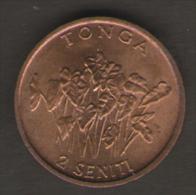 TONGA 2 SENITI 1990 - Tonga