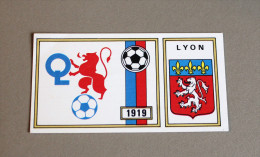 Panini Football FC LYON OL 1977 écusson N°109 - Panini