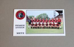 Panini Football FC METZ 1977 équipe Première Division N°151 - Edition Française