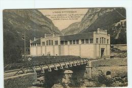 VILLARD De LANS - Le VERCORS - HOUILLE BLANCHE - Usine électrique Du BOUMILLON -  2 Scans - Villard-de-Lans