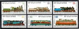 BULGARIE   N° 3149/54   * *   ( Cote 5e ) Train - Trains