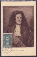 France N°397 - Carte Maximum - La Fontaine - Maximum Cards