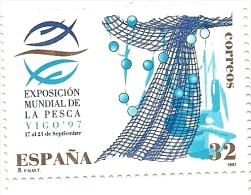1997 - Spagna 3084 Pesca, - 1931-Aujourd'hui: II. République - ....Juan Carlos I