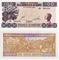 Guinea 100 Francs 2012 Pick-35-b UNC - Guinea