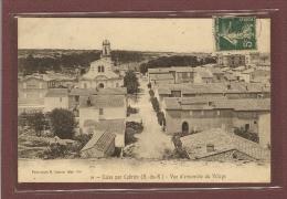 CALAS PAR CABRIES (13) - VUE D'ENSEMBLE DU VILLAGE - France