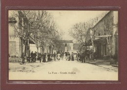 LA FARE (13) - GRANDE AVENUE - HOTEL CAFE - CARTE PAS COURANTE - Autres Communes