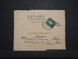 MAROC ANGLAIS - Bande Journal De Tanger Pour La Duchesse De Guise En Belgique 1939 - RARE - A Voir - Lot P14290 - Morocco Agencies / Tangier (...-1958)