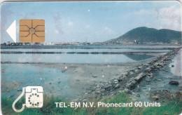 Saint Marteen, STM C3a, 60 Units, Salt Pond, 2 Scans. - Antilles (Netherlands)