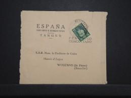 MAROC ANGLAIS - Bande Journal De Tanger Pour La Duchesse De Guise En Belgique 1939  - RARE - Même Archive - Lot P14295 - Morocco Agencies / Tangier (...-1958)