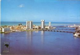 BRASIL, RECIFE, PE, Vista Parcial Rio Capibaribe 2 Scans - Recife