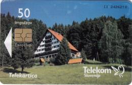 SLOVENIA SLOVENIJA PHONECARD 2006 HOTEL TISA POHORJE  HOTELS TELEKOM CAT.NO. 698 - Slovénie
