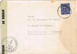 16023. Carta MUNCHEN (Zona Ocupation Anglo Americana) 1956. CENSOR Civil Censorship - Zona Anglo-Américan