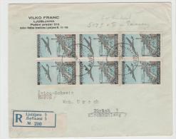 Yu008 / JUGOSLAWIEN -  Luftpost 517 I + II, Paare (3 X) Einschreiben 1948 - 1945-1992 Socialist Federal Republic Of Yugoslavia