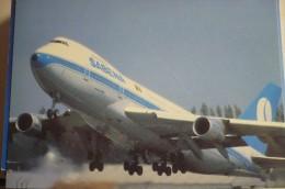 AIRLINES ISSUE / CARTE COMPAGNIE     SABENA  B 747 - 1946-....: Modern Era